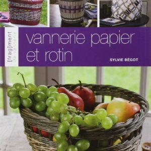 Livre – Vannerie papier et rotin